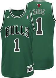 signed nba jersyes chicago bulls 1 derrick rose green jerseys