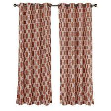 Rust Color Curtains Fantastic Rust Colored Curtains And Rust Color Tier Kitchen