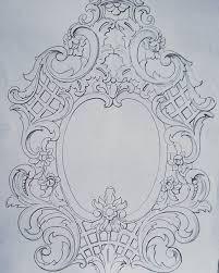 stencil baroque rangavallikaluuu stenciling