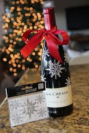 wine gift ideas christmas wine gift wrapping ideas ribbon decorative stones
