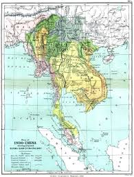 France Rail Map by Map Of Indo China Showing Proposed Burma Siam China Railway 1886