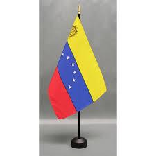 Venezual Flag Country 8 U0027 X 12 U0027 Mounted E Gloss Flag Closeouts Eder Flag