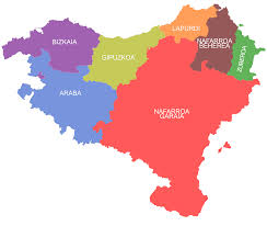 Spain Regions Map by Basque Country Greater Region Wikipedia