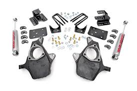Classic Ford Truck Lowering Kits - 2in 4in lowering kit for 07 14 chevy gmc 2wd 1500 pickup