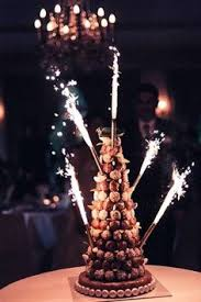 croquembouche traditional french wedding cake made from cream