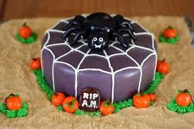 Cakes Halloween by Cakes By Nicola Halloween Spider Cake