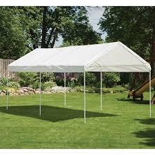 how many tables fit under a 10x20 tent shelterlogic maxap carport canopy white walmart com