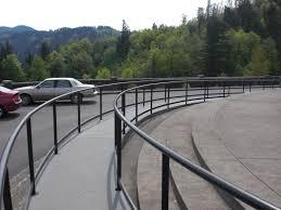 Curved Steel Handrails Albina Co Inc Blog