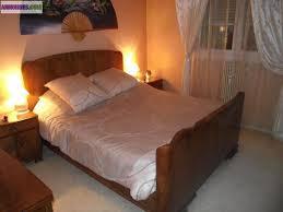 chambre à coucher bois massif chambre coucher bois massif lit oslo mobilier de chambre coucher