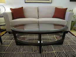 Glass Oval Coffee Table End Table Glass Top Replacement Beautiful Trendy And Modern Glass