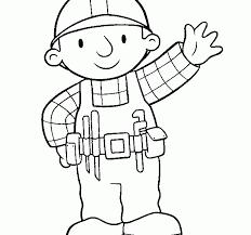 bob builder coloring pages coloring pages bob builder bob