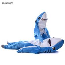 Shark Costume Halloween Man Shark Costume Promotion Shop Promotional Man Shark Costume