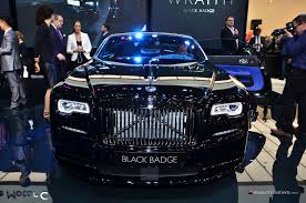 rolls royce badge rolls royce black badge geneva 2016 07 images geneva motor show