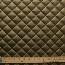 Upholstery Fabric Cars Quilted Leather Diamond Padded Cushion Faux Leather Interior