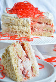 rice crispy treat candy cake wonkywonderful