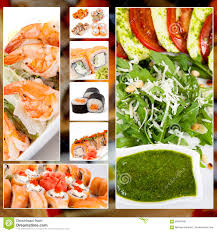 japanese food collage photo stock photo image 59997946
