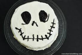 nightmare before christmas cake decorations skellington cake