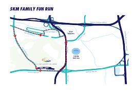 Jccc Map Bjccc Run 5km U2013 Bukit Jalil Ccc Run 2017 Calvary Convention