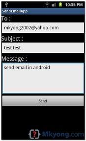 send from android how to send email in android