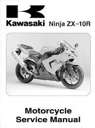 kawasaki zx10r ninja 2004 service manual service manual pdf download