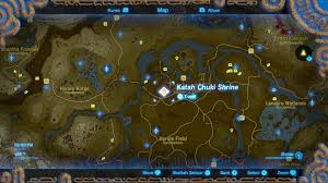Map Of Hyrule Zelda Breath Of The Wild Guide Katah Chuki Shrine Polygon