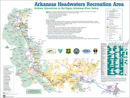 Arkansas River Map Arkansas Headwaters State Park Maplets