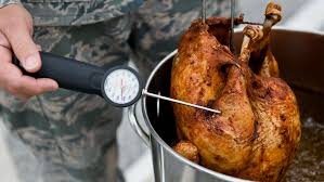 the american cross offers tips for a safe fried turkey this