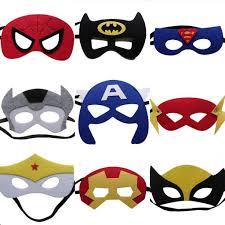 sale the avengers masks children party face masks superheros