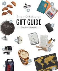 gift guide for the traveler and expat living in another