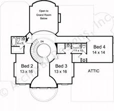 High End House Plans by Vienna Neoclassical Floor Plan Luxury House Plan