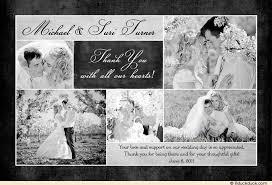 wedding thank you cards new wedding card thank you wording