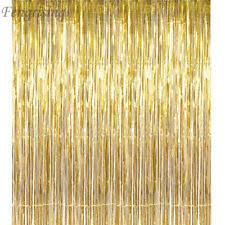wedding backdrop ebay tinsel curtain home garden ebay