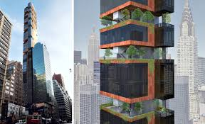 united nations tower has floating wrap around gardens will be new