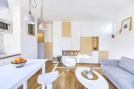 Architecte Petite Surface 30m2 Flat In Paris Richard Guilbault Archdaily