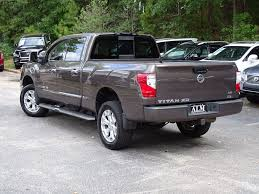 nissan pickup 2016 2016 used nissan titan xd 2wd crew cab sl diesel at atlanta luxury