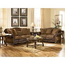 livingroom set fresco durablend antique living room set signature design by
