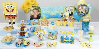 personalized spongebob squarepants party birthday express