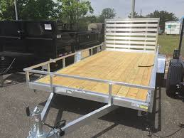 Aluminum Landscape Trailer by Home Offshore Trailers In Nj Find Dump Flatbed And Utility