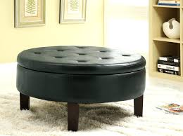 ottoman storage ottoman with casters full size of target round