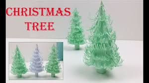 diy very easy and beautiful handmade christmas tree 3d paper
