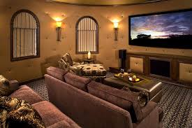 Sofa Movie Theater by Sparkling Soundproof Drywall Home Gym Contemporary With Carpet