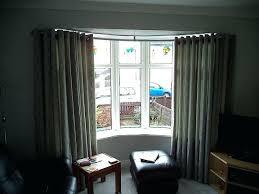 astounding ceiling curtain track bay window u2013 burbankinnandsuites com