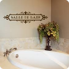 bathroom wall decals quotes and sayings wall written