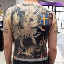 tattoos of demons and fighting fighting demons tattoos 40