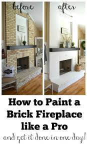best 25 brick fireplace makeover ideas on pinterest painting