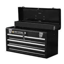 home depot black friday tool chests husky 20 in 3 drawer portable tool box with tray tb 303b the