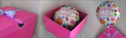 balloons in a box balloon in a box gift item delivered direct to your door auckland