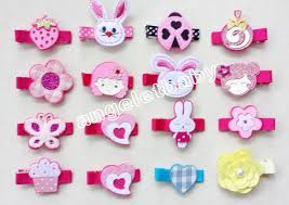 felt hair accessories 500pcs random style carters felt hair bows girl