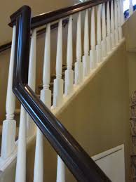 stair railing u2013 painting update stair railing stair case and