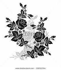 Rose Flower Design Vector Images Illustrations And Cliparts Rose Motif Flower